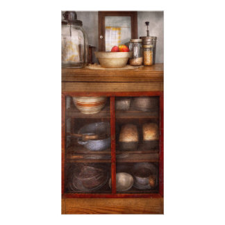 Kitchen - The cooling cabinet Photo Greeting Card