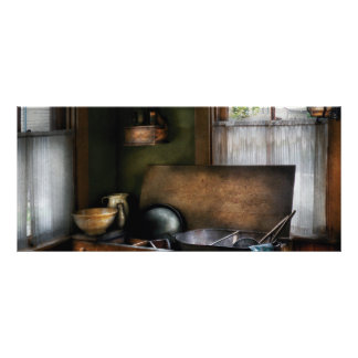 Kitchen - The Kitchen Sink Rack Card Template
