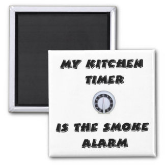 Kitchen Timer/Smoke Alarm Magnet
