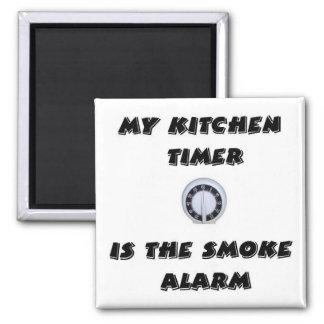 Kitchen Timer/Smoke Alarm Magnet
