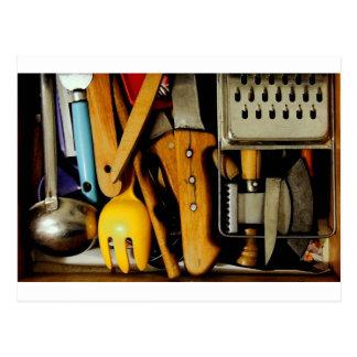 Kitchen Tool Postcard
