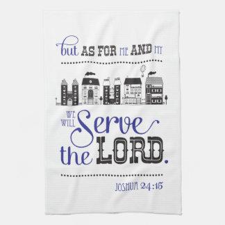 Kitchen Towel Bible fresh one Joshua 24:15