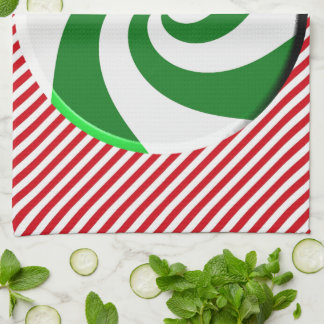 Kitchen Towel - Christmas Candy l