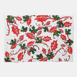 Kitchen Towel Christmas Winter Design