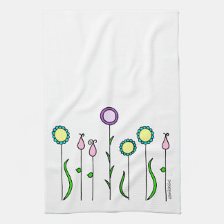 Kitchen towel flower discount/Flowerbed Kitchen To