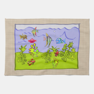 KITCHEN TOWEL FOR A TROPICAL VACATION HOME
