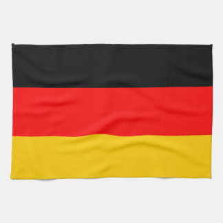 Kitchen towel Germany flag