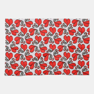 Kitchen Towel Happy Hearts