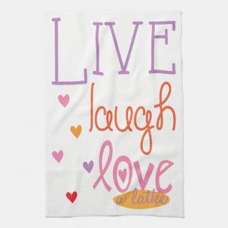 """Kitchen Towel """"Live Laugh Love a Latke Towel"""""""
