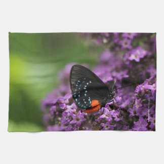Kitchen Towel photo butterfly