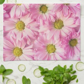 Kitchen Towel - Pink Gerbera Daisies