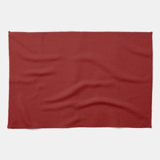 Kitchen Towel - Textured Burgundy