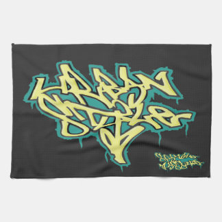 Kitchen Towel Urban Style Graffiti