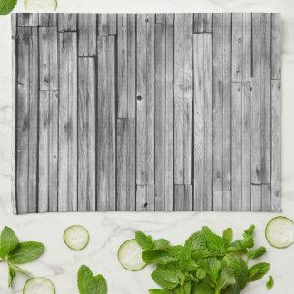 Kitchen Towel - Weathered Barn Wood