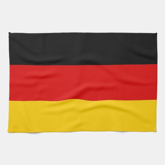 Kitchen towel with Flag of Germany