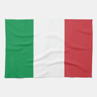 Kitchen towel with Flag of Italy