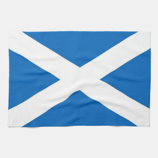 Kitchen towel with Flag of Scotland