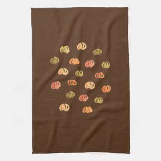 Kitchen towel with pumpkins