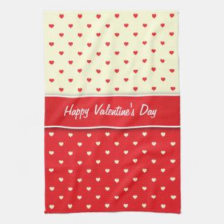 Kitchen Towels Love Hearts