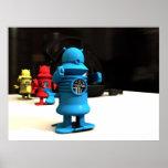 Kitchen Toy Robot Helpers Print