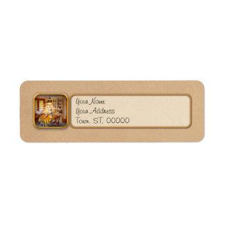 Kitchen - Typical farm kitchen Return Address Label