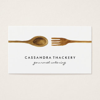 Kitchen Utensils   Cooking and Catering Business Card