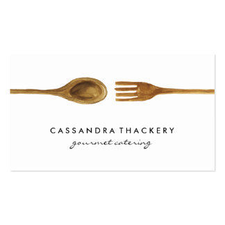 Kitchen Utensils | Cooking and Catering Pack Of Standard Business Cards