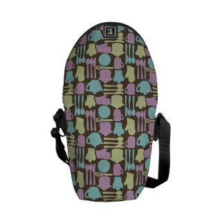 Kitchen Utensils Pattern 2 Commuter Bags
