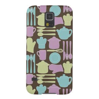 Kitchen Utensils Pattern 2 Galaxy S5 Covers