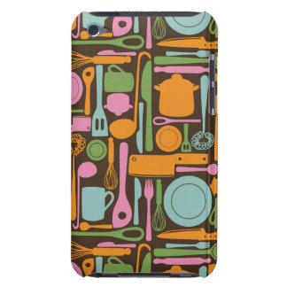 Kitchen Utensils Pattern 3 Barely There iPod Case