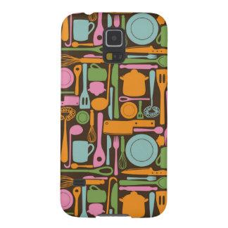 Kitchen Utensils Pattern 3 Case For Galaxy S5