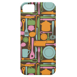 Kitchen Utensils Pattern 3 iPhone 5 Covers