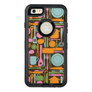 Kitchen Utensils Pattern 3 OtterBox iPhone 6/6s Plus Case
