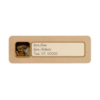 Kitchen - Vegetable - A still life with gourds Return Address Label