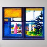Kitchen Window - Poster
