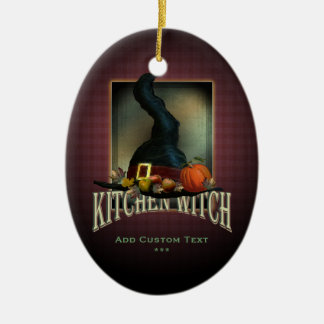 Kitchen Witch Christmas Ornament
