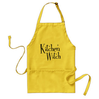 Kitchen Witch Standard Apron
