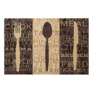 Kitchen Words Trio Wood Wall Decor