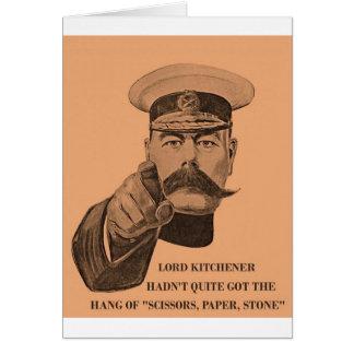 Kitchener Greetings Card