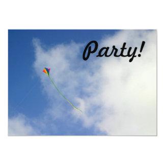 Kite 13 Cm X 18 Cm Invitation Card