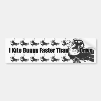 Kite Buggy Bumper Sticker