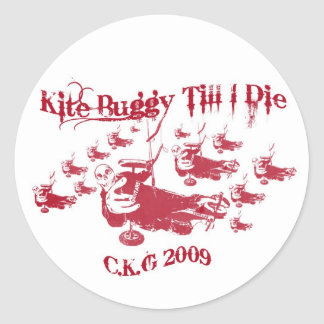 Kite Buggy Sticker