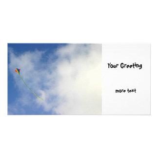 Kite Custom Photo Card