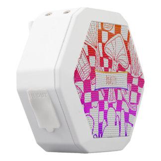 Kite Festival White Bluetooth Speaker