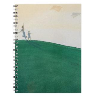 Kite Flying 2000 Spiral Notebooks
