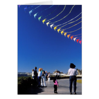 Kite Flying Greeting Card