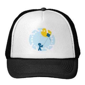 Kite Flying Trucker Hat