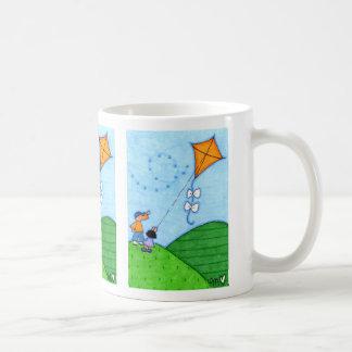 Kite Flying Lessons Classic White Mug