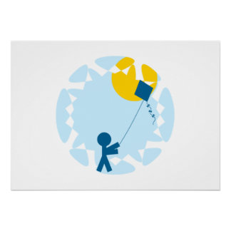 Kite Flying Posters