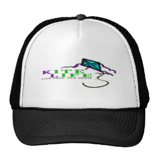 Kite Life - Live Free Fly High Trucker Hat